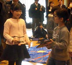 渋谷区立代々木山谷小学校の4年社会ではドローンをプログラミング