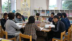 米沢小学校図書館の運営委員会