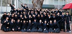 広尾学園インターナショナルコースの高校生